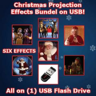 HOLIDAY PROJECTION USB CHRISTMAS BUNDLE